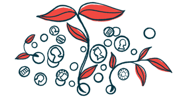 financial aid for families | Angelman Syndrome News | Patient resources | Illustration of plant stems and money coins